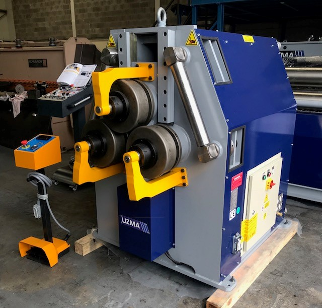 UZMA 80 UPB 80 Large Hydraulic section roller in stock